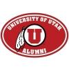 Cover Image for Utah Utes Red Long-Sleeve Alumni Medallion T-Shirt
