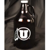 Image for Utah Utes Athleic Logo Growler