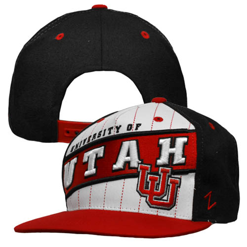 Image For University of Utah Zephyr Snapback Hat