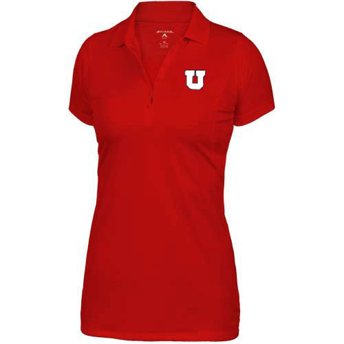 Image For Antigua Utah Utes Block U Womens Polo