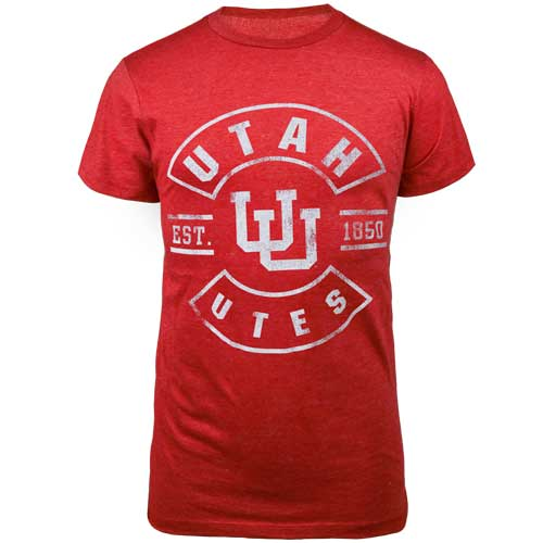Image For Utah Utes Interlocking U T Shirt