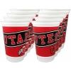 Image for Utah Utes 8 Pack Plastic Cups