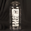 Image for Utah Utes Athletic Logo Clear 34 ounce Water Bottle