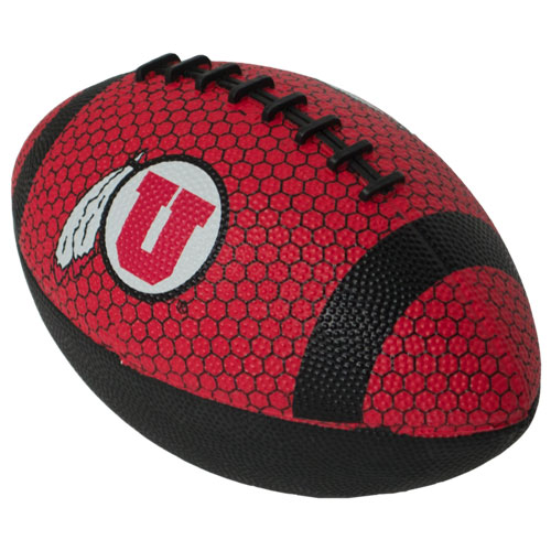 Image For Athletic Logo Hex Patterned Mini Football