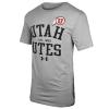 Image for Utah Utes Est 1850 Athletic Logo Under Armour T-Shirt