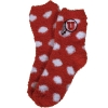 Image for Utah Athletic Logo Polka Dot Socks