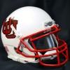 Image for Mini Utah Utes Black Outline Interlocking U Helmet