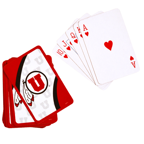Image For University of Utah Playing Card Deck
