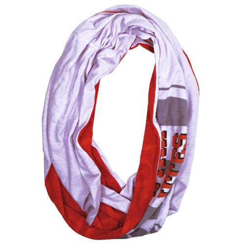 Image For Utah Utes Athletic Logo Infinity Scarf