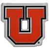 Image for Utah Utes Laser Cut Block U Magnet