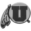 Image for Chrome Athletic Logo Car Emblem