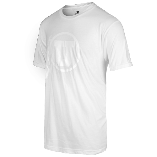 Image For Athletic Logo White Out Mens T-Shirt