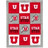 Image for Utah Utes League Patchwork Blanket