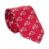 Image for Utah Utes Repeating Athletic Logo Tie