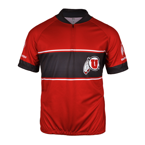 Image For University of Utah Bike Jersey