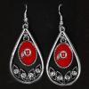 Image for Utah Utes Athletic Logo Teardrop Earrings