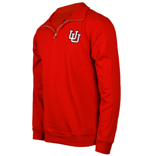 Image For 212 Fahrenheit Interlocking U Quarter Zip Sweatshirt