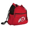 Image for U Logo Sport Drawstring Backpack