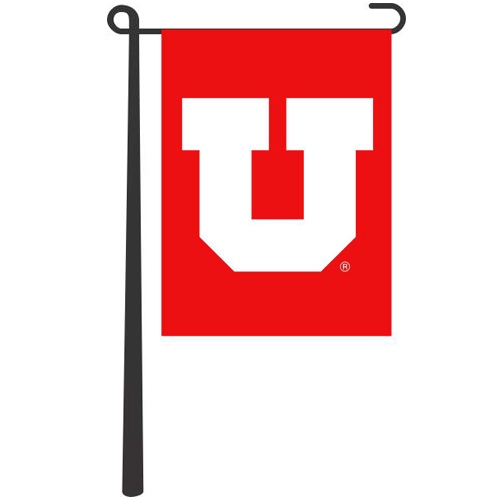 Image For Utah Block U Garden Banner