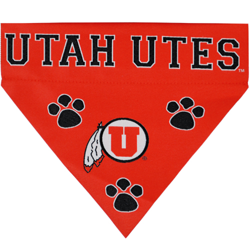 Image For Utah Utes Athletic Logo Pet Bandanna