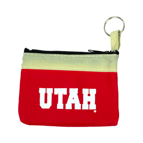 Image For Red Utah Zipper Pouch