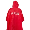 Cover Image for Utah Utes Red Heavy Weight Adult Rain Poncho