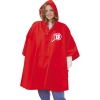 Image for Red Heavy Weight Athletic Logo Rain Poncho