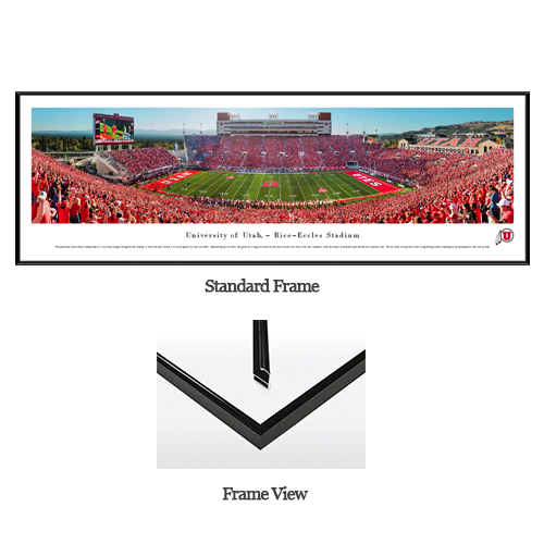 Image For Utah Utes Rice Eccles Stadium End Zone Panoramic<!--DS-->