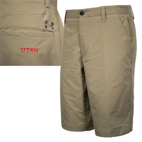 Cover Image For Under Armour Khaki Golf Shorts