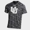 Image for Under Armour Carbon Fiber Interlocking U T-shirt