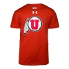 Image for Mens Under Armour Utah Athletic Logo Tee