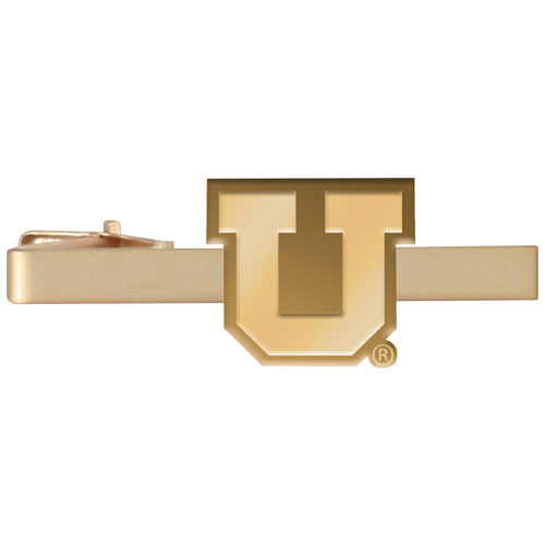 Image For Block U Gold Tie Bar