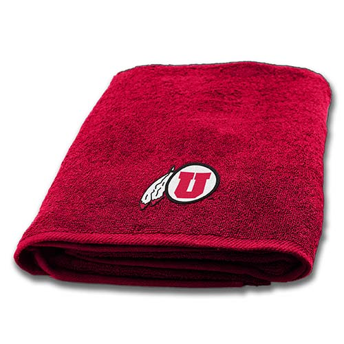 Image For Utah Utes Athletic Logo Bath Towel
