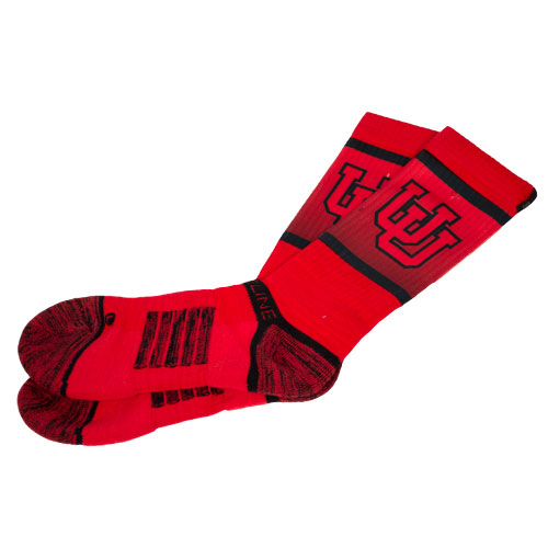 Cover Image For Strideline Red Interlocking U Socks