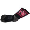 Image for Utah Utes Strideline Black Interlocking U Socks
