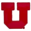 Cover Image for Utah Utes Athletic Logo 12 Inch Car Magnet