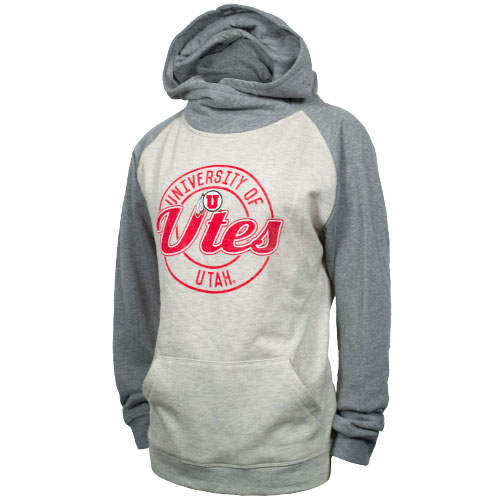 Image For Ouray Womens University of Utah Utes Hooded Sweatshirt