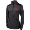 Image for Champion Womens Athletic Logo Half Zip Pull Over