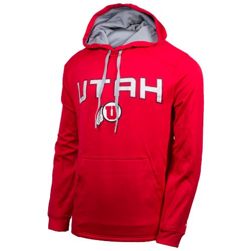 Cover Image For Champion Utah Athletic Logo Hooded Sweatshirt