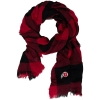 Image for ZooZats Checkered Athletic Logo Infinity Scarf