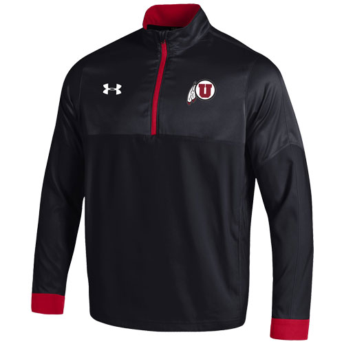 Image For Under Armour Athletic Logo Woven Quarter Zip