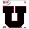 Image for Black Block U 10 Inch Outside Applicaiton Decal