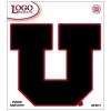 Cover Image for Black UTAH UTES License Plate