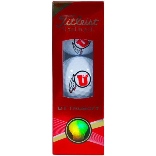 Image For 3 Pack Athletic Logo Titleist Golf Balls