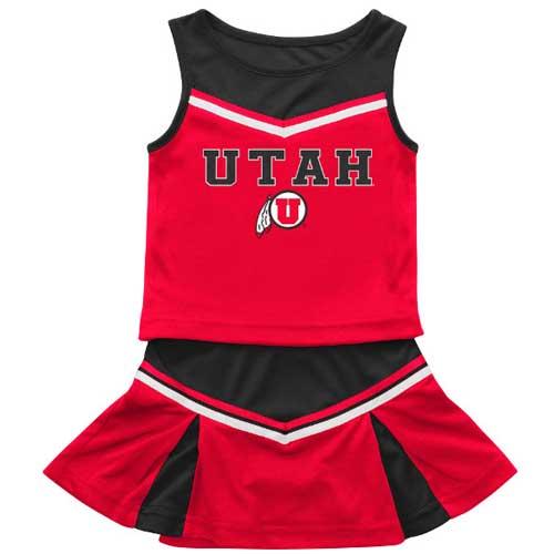 Image For Utah Athletic Logo Toddler Cheer Outfit