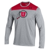 Image for Under Armour Long Sleeved Athletic Logo T-Shirt