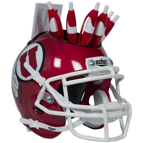 Image For Utes Football Helmet Desk Caddy