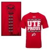 Image for Under Armour Ute Proud Tribal Pattern T-Shirt