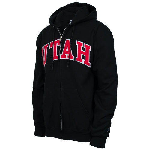 Image For Champion Utah Full Zip Hooded Sweatshirt