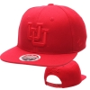 Image for Red On Red Interlocking U Utah Utes Hat